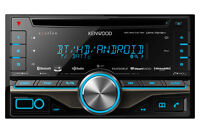 Kenwood eXcelon DPX791BH DDIN In-Dash Receiver with HD Radio!