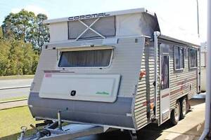 "2003 Coromal Excel Pop Top Dual Axle Single Beds 17'7"" x 7'5"" Tweed Heads Tweed Heads Area Preview"
