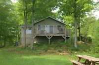 20 acre waterfront cottage on Lower Beverley Lake