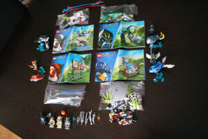 LEGO CHIMA Speedorz 4 SETS w/instructions 4 EXTRA minifigs weapn