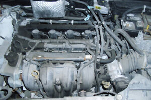 2011 FORD FOCUS ENGINE AND TRANSMISSION