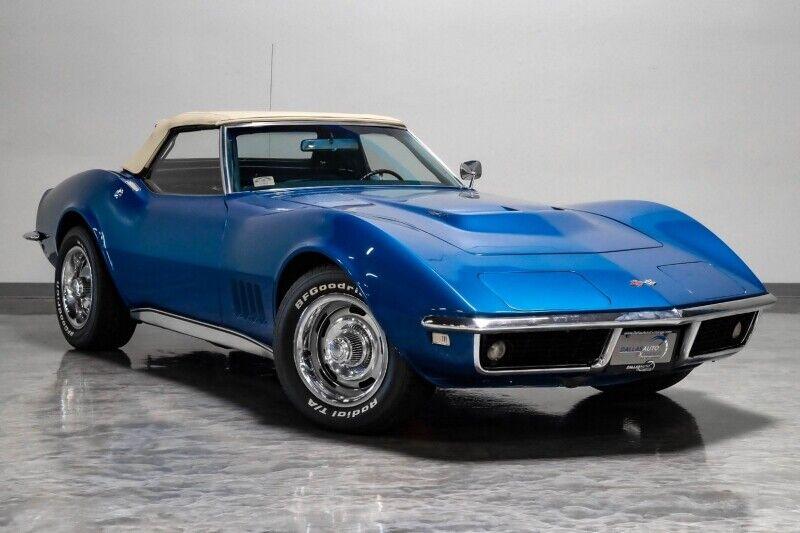 1968 Blue Chevrolet Corvette     C3 Corvette Photo 3