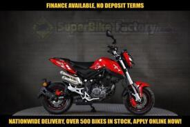 2017 BENELLI TNT EFI 125CC, 0% DEPOSIT FINANCE AVAILABLE