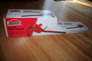 New in Box: Jobmate Electric Hedge Trimmer