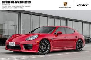 2016 Porsche Panamera GTS -LOW KMS, Clean CARFAX, CPO!