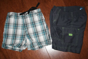 2 Pairs of Shorts - 6-12 Months