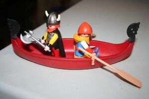 Playmobil - Vikings Chaloupe et guerriers 3156