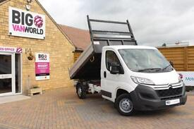 2015 CITROEN RELAY 35 HDI 130 MWB L2 SINGLE CAB ALLOY TIPPER TIPPER DIESEL