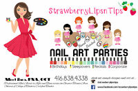 AWESOME SAUCE NAIL ART PARTIES GIRLS+TEENS LOVE mobile spa party