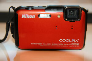 Nikon COOLPIX AW110 Waterproof Camera Camera