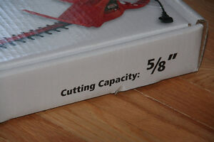 New in Box: Jobmate Electric Hedge Trimmer Kitchener / Waterloo Kitchener Area image 4