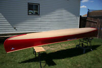Custom built Nova Craft Blue Steel 16' Prospector Canoe