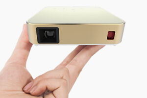 Mini Android Portable Pocket Projector - Touch Control, DLP, 8GB
