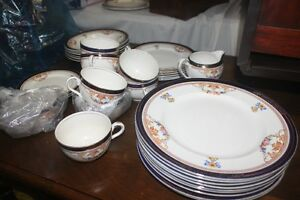 Antique Dish Set Pieces.....Blue by Alfred Meakin, ENGLAND
