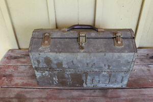 Old Kennedy Kits Style No. 1017 Metal Tool Box London Ontario image 2