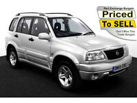 2005(55) SUZUKI GRAND VITARA 2.0 16v ~ 5 DOOR ~ 4x4 ~ ONLY 61,000 MILES