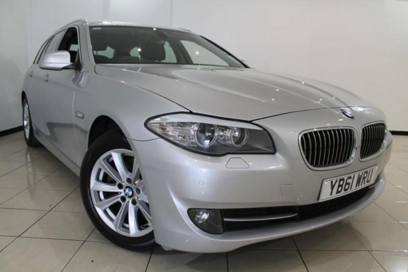 2012 61 BMW 5 SERIES 2.0 520D SE TOURING 5DR AUTOMATIC 181 BHP DIESEL