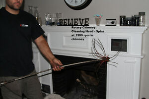 Chimney Cleaning / Sweep Service - Advanced WETT Certified Sarnia Sarnia Area image 3