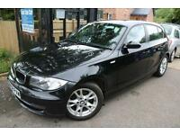 BMW 118d SE 2.0 Black 5 Door FSH Long MOT 30 Pounds Tax 1yr Finance Available