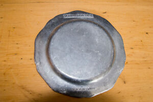QUEEN ANNE PEWTER DINNER AND DESSERT PLATES West Island Greater Montréal image 2