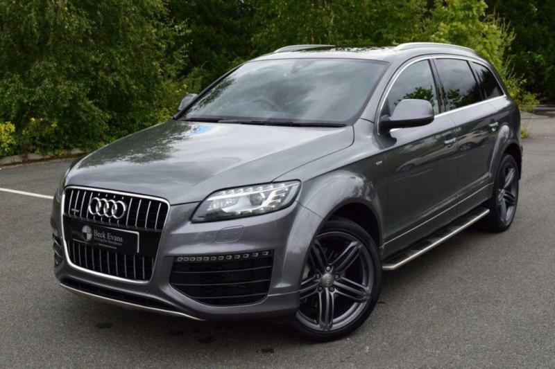 2014 14 audi q7 3 0 tdi quattro s line sport edition 5d auto 242 bhp diesel in sidcup london. Black Bedroom Furniture Sets. Home Design Ideas