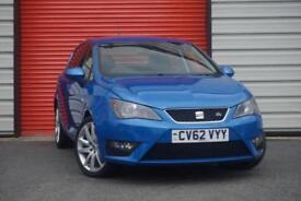 2012 62 SEAT IBIZA 1.2 TSI FR 5D 104 BHP