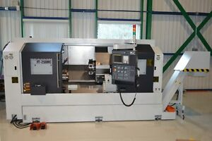 FEELER F250MC CNC LATHE **DEMO 2012**