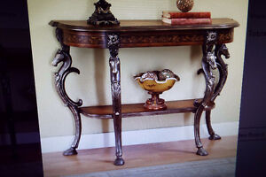 wild horses console table new