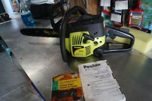 "Poulan ""14"" chain saw $75.00 CASH FIRM"