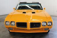 Miniature 4 Voiture Américaine de collection Pontiac GTO 1970
