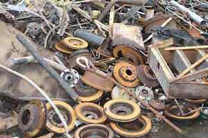 Scrap metal & appliance removal 721-4174