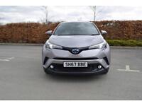 2017 TOYOTA C HR Toyota C HR 1.8 Hybrid Excel 5dr CVT Auto