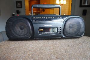 Panasonic Mini Boom Box  Radio Cassette