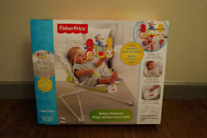Fisher-Price Baby's Bouncer Chair (Green)