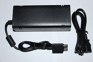 XBOX 360-SLIM CONSOLE-AC ADAPTATEUR/POWER SUPPLY ADAPTER (NEUF/NEW) [VOIR/SEE DESCRIPTION]