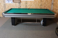Re-conditioned Dufferin Challenger 9' pool table