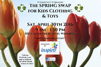 The SPRING SWAP for Kids Clothing & Toys 2016