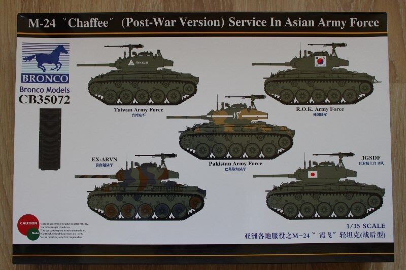 M-24 Chaffe (Post-War-Version) Service in Asian Army Force