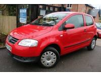 2008 Volkswagen Fox 1.2 60 PS Red 3 Dr FSH Long MOT Low Miles Finance Available
