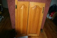 Portes d'armoires en chene FAITES VOTRE OFFRE