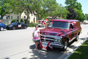 RENT A REALLY NEAT VINTAGE RIDE FOR YOUR SPECIAL DAY London Ontario image 10