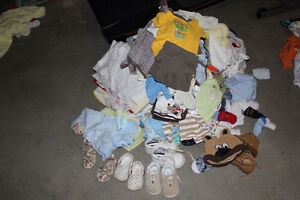 Boys Clothing - Huge Bag Full 0 to 3 months