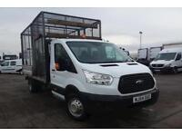 Ford Transit 350 L4 2.2 TDCi 125ps Heavy Duty Caged Dropside DIESEL RWD