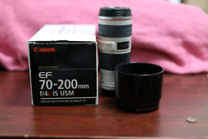 Canon 70-200 F4L IS