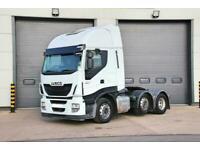 2016 (65) IVECO Stralis 460 (Euro 6) 6X2 Tractor Unit