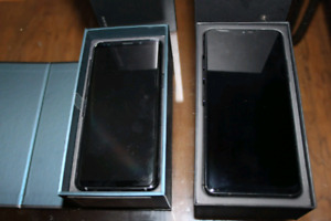 2 phones for sale S9 and G7