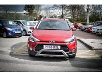 2016 65 HYUNDAI I20 1.0T GDI Active 5dr in Red Passion