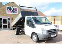 2009 FORD TRANSIT 350 TDCI 100 MWB SINGLE CAB ALLOY TIPPER DRW TIPPER DIESEL