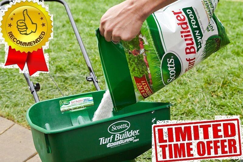 Scotts Turf Builder Lawn Fertilizer 5000 Sq Ft Grass Top