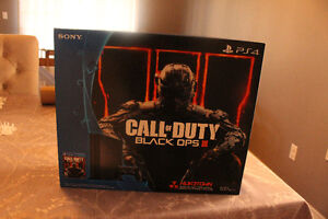 500GB PLAYSTATION 4 BLACK OPS 3 CONSOLE BUNDLE $400